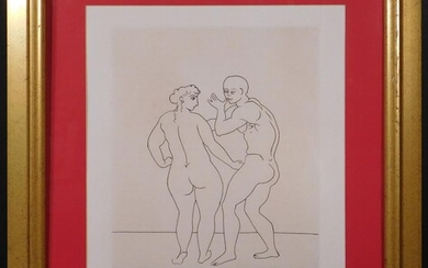 ANDRE DERAIN, AFTER: ETCHING FROM THE SATRYICON PORTFOLIO