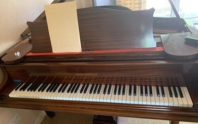 Bechstein (c1931) A 5ft 6in Model L grand piano in a mahogan...