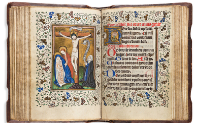 Book of Hours Use of Utrecht circa 1435 1445