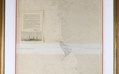 Historical Nautical Chart from Prince Albert of