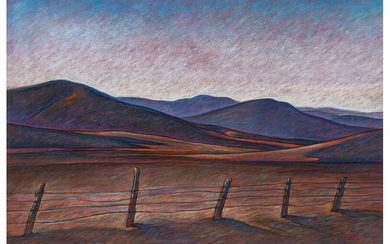 Howard Post (b. 1948), Cattle Country