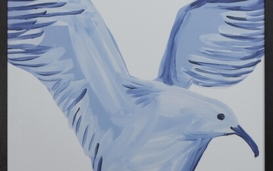 I DID NOT ASK TO BE A BIRD, A LITHOGRAPH BY DAVID SHRIGLEY