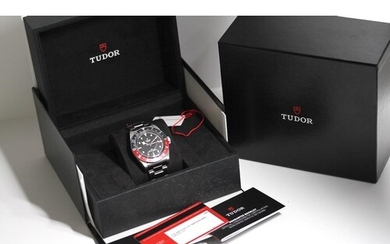 TUDOR BLACK BAY GMT REFERENCE 79830RB BOX AND PAPERS UNDATED...