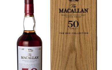 The Macallan The Red Collection 50 Year Old 45.1 abv NV (1 BT70)