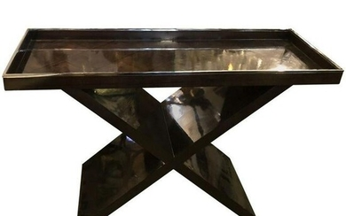 Tray Top Console Table Late-20th Century