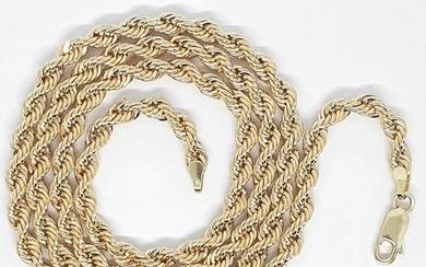 18 kt. Yellow gold - Necklace