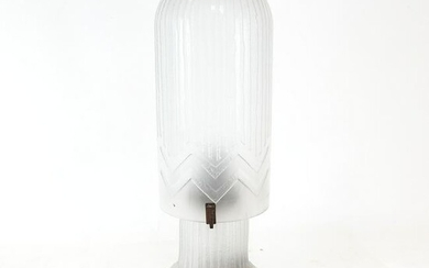 Art Deco Frosted Glass Table Lamp
