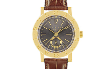 BULGARI, GOLD WITH DATE AND MONTH
