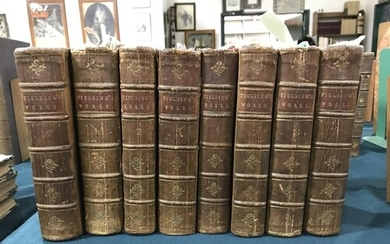 Fielding, Henry. The Works, 8 volumes, second edition, engra...