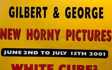 Gilbert and George. New Horny Pictures, White Cube catalogue...