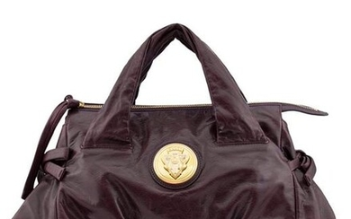 Gucci Hysteria Collection Maroon Leather Bag