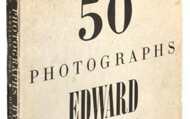 Initialed by Edward Weston, limited edition