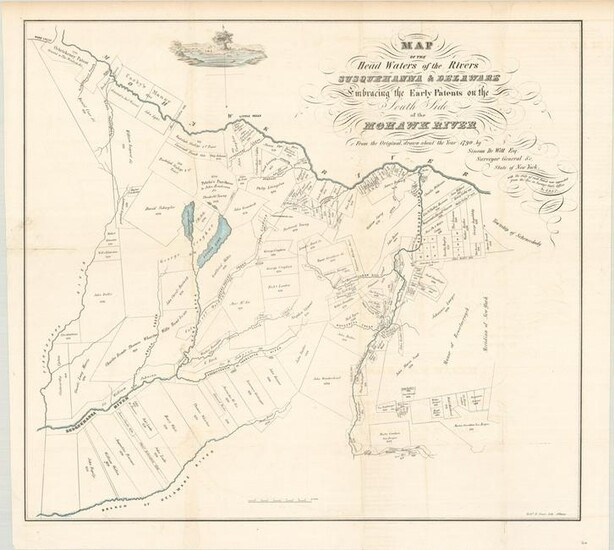 MAP, New York, Pease Lithography