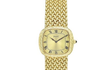 Piaget Vintage TV Screen Ultra-Thin in 18K Gold