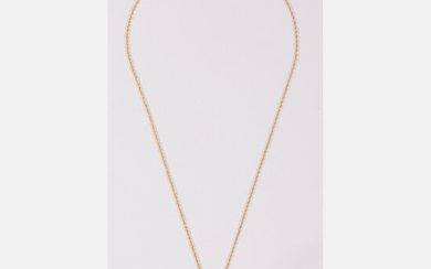 14kt Yellow Gold and Mabe Pearl Necklace and Pendant