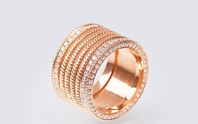 A Ring with Diamonds.