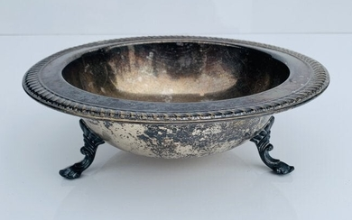 Antique Silver Plated Bowl by F.B. Rogers Pattern 1158