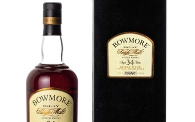 Bowmore 34 Year Old 51.0 abv 1971 (1 BT75)