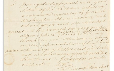 """CARROLL, CHARLES. Autograph Letter Signed, """"Ch. Carroll"""
