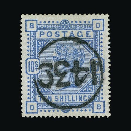 Great Britain - QV (surface printed) : (SG 182) 1883-84 10s ...