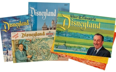 Lot of 7 Disneyland Souvenir Books. Includes The Story