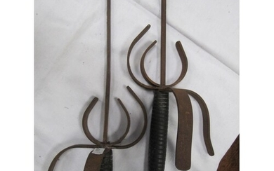 Pair of Rapier Swords.