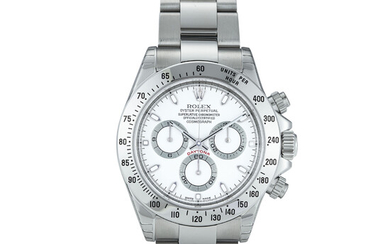 ROLEX, STEEL DAYTONA, REF. 116520 NEW OLD STOCK