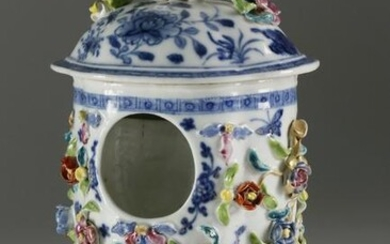 Rare Chinese Export Famille Rose Watch Stand