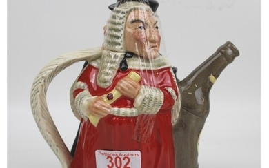 Royal Doulton two sided character teapot: Sodden and Sobriet...