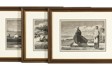 THREE WOOD ENGRAVINGS AFTER WINSLOW HOMER