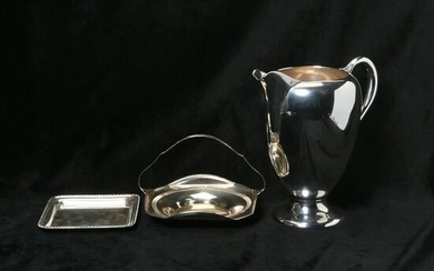 Three Sterling Silver Articles Including Black, Starr