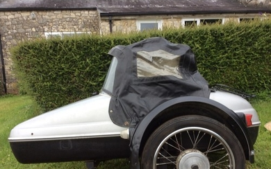 Velorex sidecar model 562, previously fitted to a BSA Thunde...