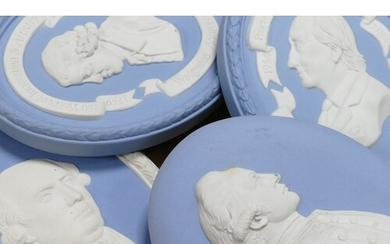 A collection of Wedgwood Jasperware to include: Piers Anthon...