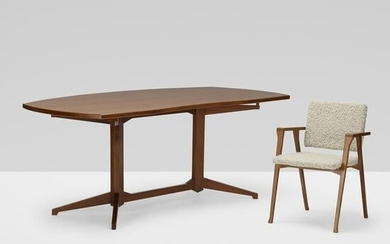 Albini and Helg, Desk and Luisa chair