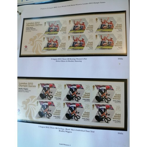 Almost complete 2012 Olympics and Paralympics sets (complete...