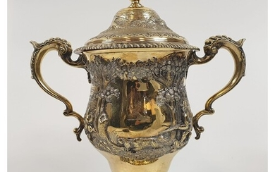 Antique (18th Century) Silver Gilt Cup Given To D'Ouchy from...