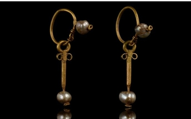 BYZANTINE GOLD AND PEARLS EARRINGS - FULL ANALYSIS