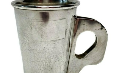Bvlgari Sterling Silver Cup with Double Handled Cup