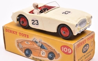 Dinky Toys Austin-Healey '100' Sports (109). An example in c...