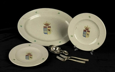 ICARO ceramic plates from the Governor of Rhodes