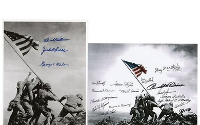 Medal of Honor Recipients (2) Multi-Signed Photographs