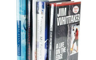 Mountaineering (4) Signed Books