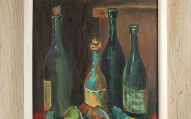 Painting, Still Life with Wine