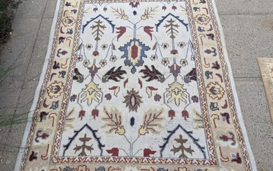Persian Hand Knotted Floral Carpet