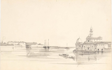 VENETIAN ARTIST, LATE 19th / EARLY 20th CENTURY View of...
