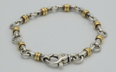 Vintage 14 Karat Yellow Gold and Sterling Tiffany And