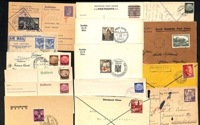 World War Two. 1939-45 Covers and cards, most bearing Genera...
