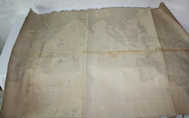 1858 MAP OF THE INDIAN OCEAN, FROM THE CAPE