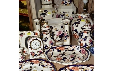 A COLLECTION OF FIFTEEN PIECES OF MASONS IRONSTONE MANDALAY ...