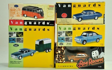 A group of Vanguards 1/43 diecast Classic Car issues